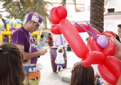 Comuniones - Animación con globos