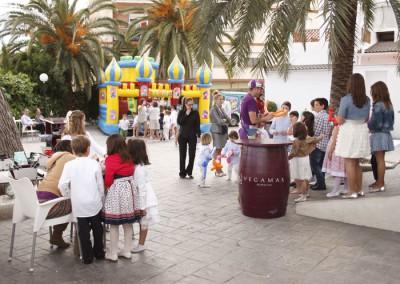 Comuniones - Animación infantil en la terraza