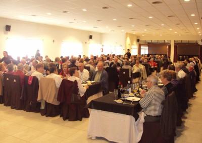 Celebración de eventos en el salón de bodas
