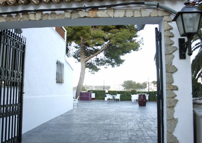 Entrada al Mesón del Castillo